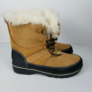 Champion woman's leather winter boots